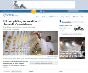 Screenshot of LJWorld.com